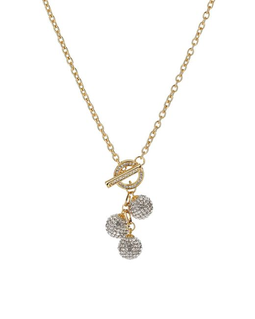 Mikey | Metallic Multi 15mm Ball Necklace | Lyst