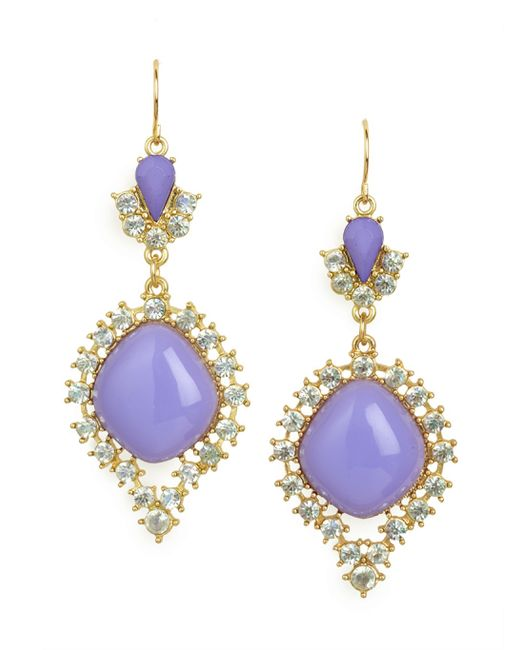 BaubleBar | Purple 'nynette' Tassel Drop Earrings | Lyst