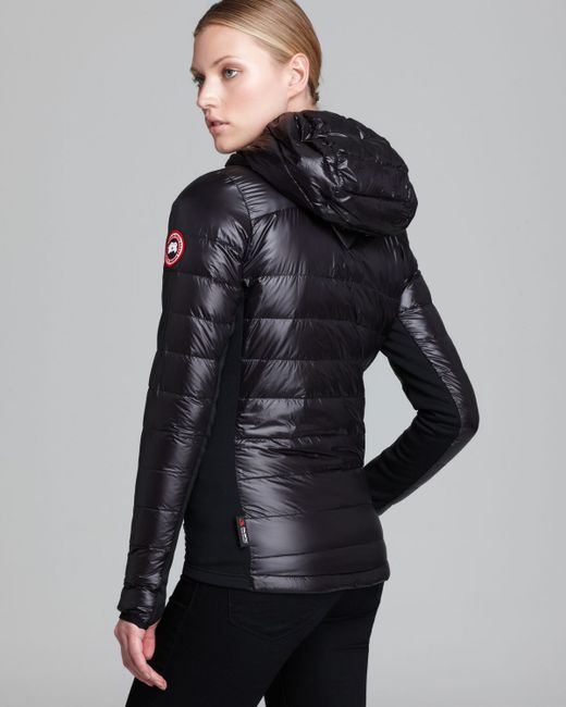 Canada Goose | Black Hybridge Light Hooded Jacket | Lyst