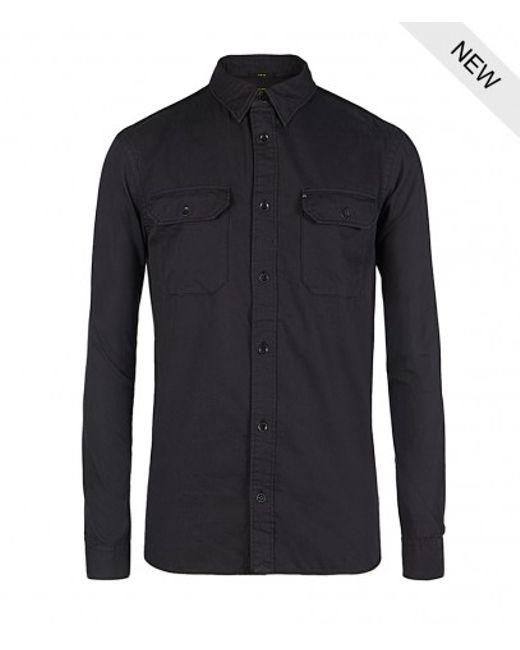 AllSaints | Black Redondo Shirt for Men | Lyst