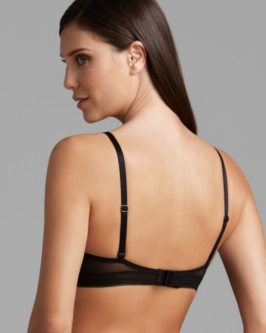 calvin klein launch convertible push up bra in black save 25 lyst. Black Bedroom Furniture Sets. Home Design Ideas
