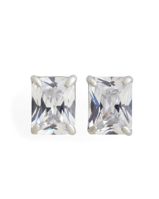 Brooks Brothers | Metallic Pierced Square Stud Earrings | Lyst
