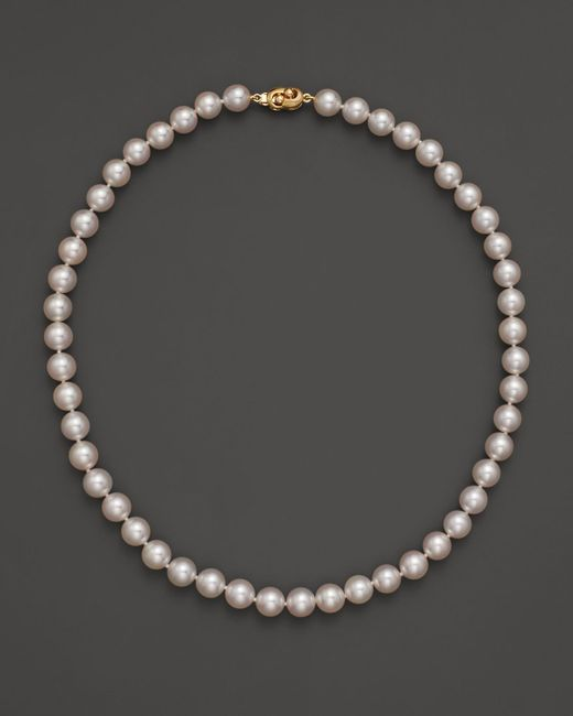 Tara Pearls | Metallic 18"