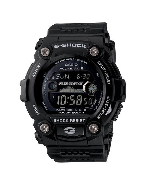 G-Shock | Black G-rescue Solar Atomic Digital Watch for Men | Lyst