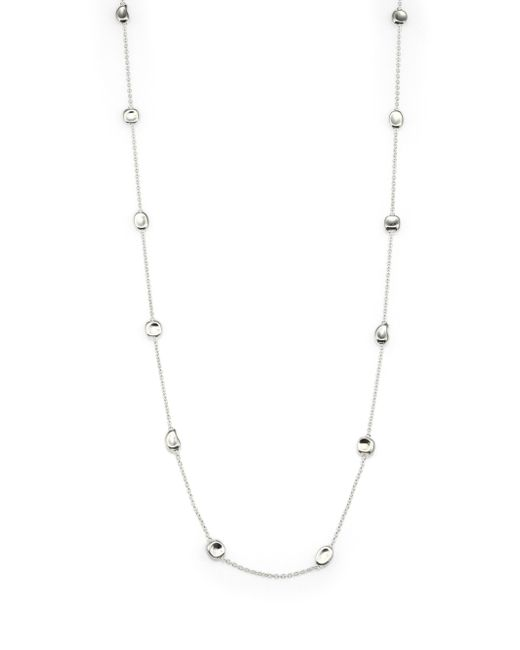 Ippolita | Metallic Glamazon Scultura Sterling Silver Mini Multi-shape Station Necklace | Lyst