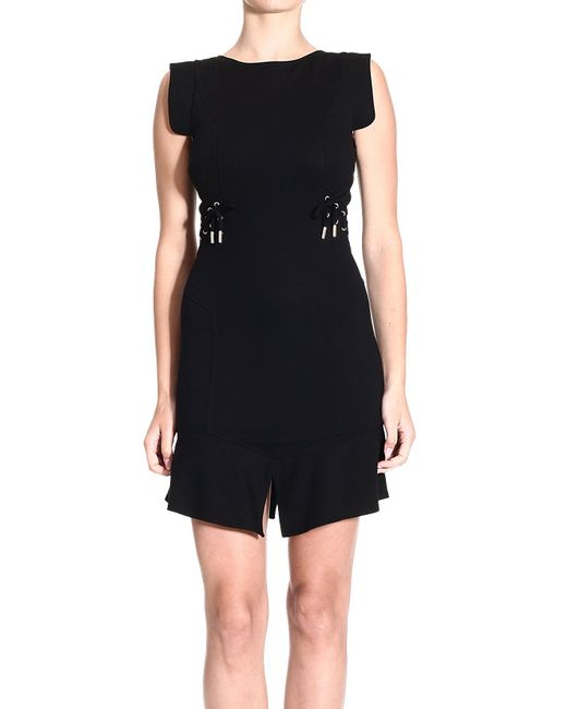 Versace Jeans | Black Short Dress | Lyst