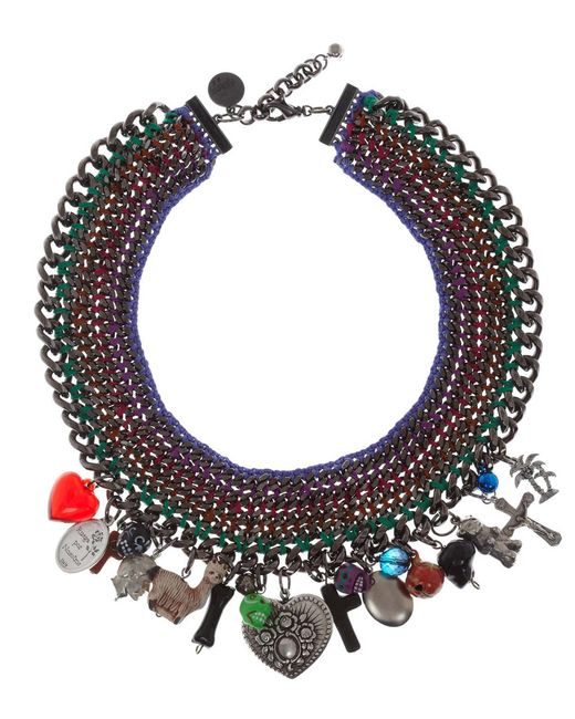 Venessa Arizaga | Multicolor 'candy Says' Necklace | Lyst