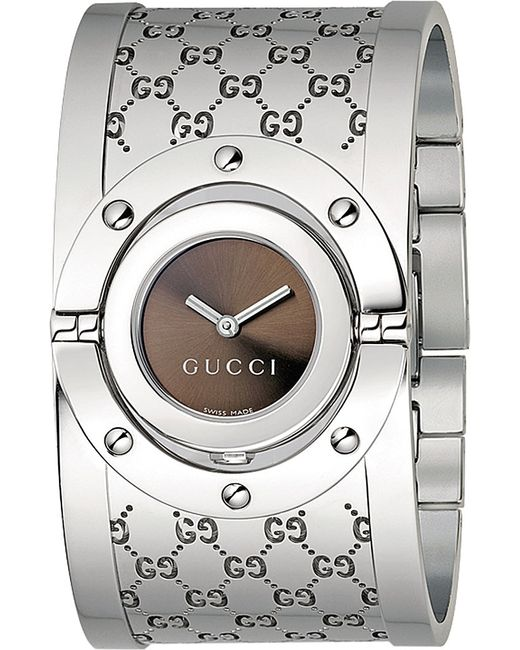 Gucci Ya112401 Twirl Collection Stainless Steel Watch in ...