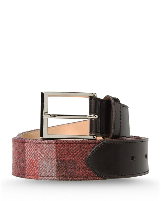 Hardy Amies | Brown Belt for Men | Lyst