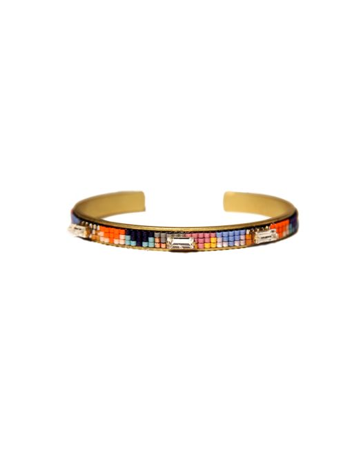 Jill Golden | Metallic Sequence Orange | Lyst