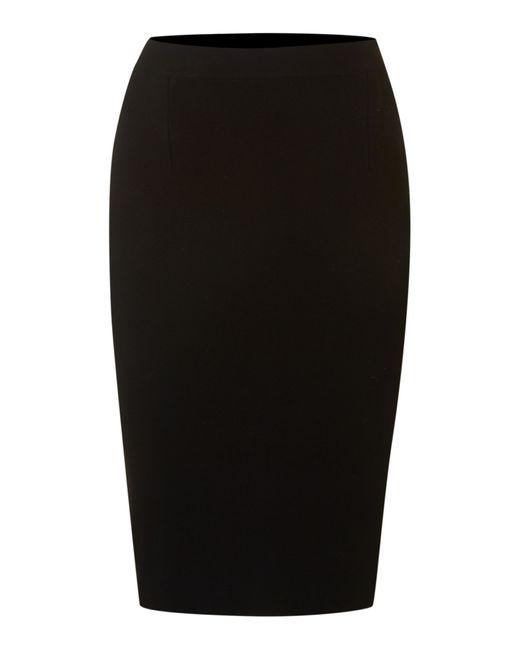 Max Mara Studio | Black Knee-length Pencil Skirt | Lyst