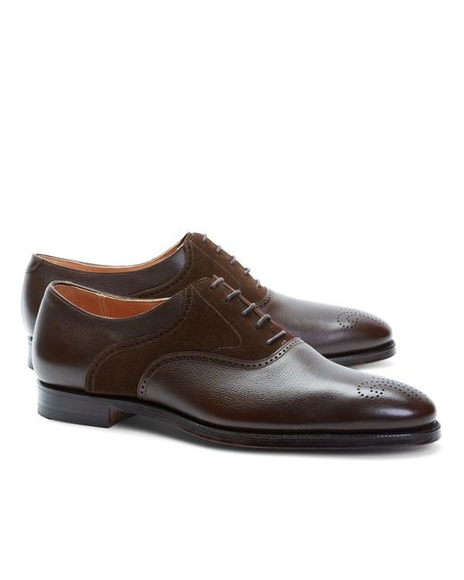 Womens Saddle Shoes Leather Sole
