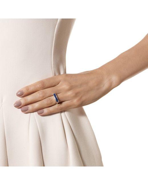Monica Vinader | Blue Baja Ring | Lyst