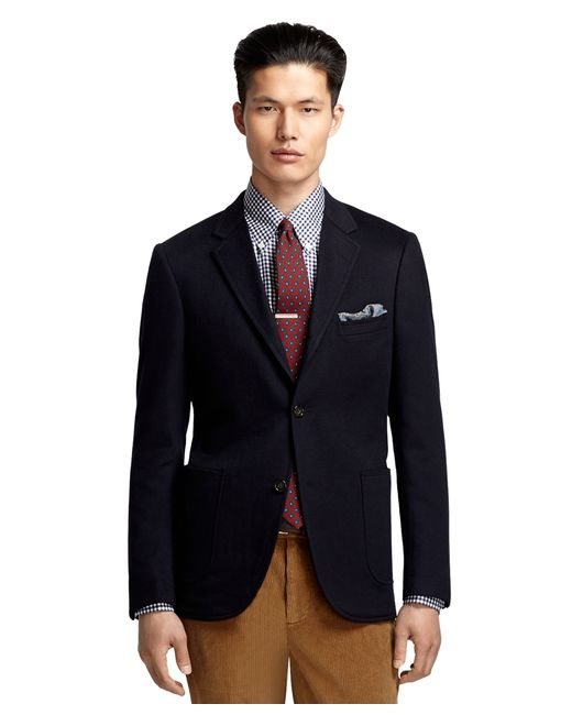 Brooks Brothers Cambridge Cashmere Sport Coat In Blue For