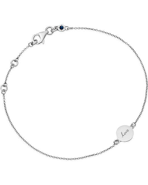 Astley Clarke | Metallic Tiny Love Disc Sterling Silver Bracelet | Lyst