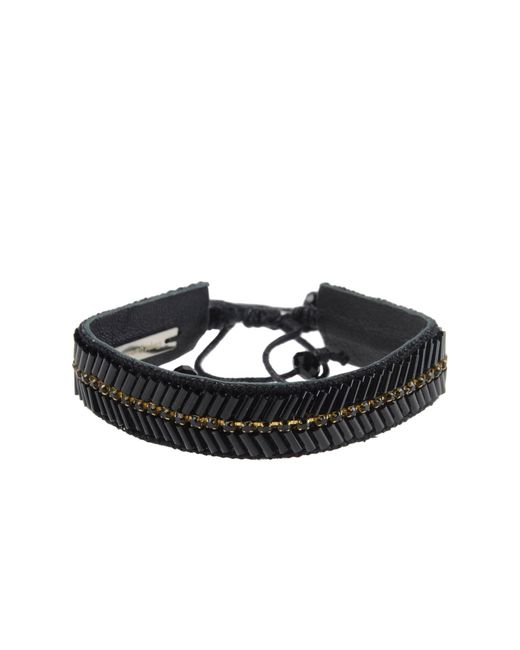 Deepa Gurnani | Black Bracelet | Lyst
