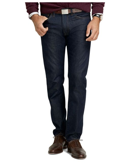Brooks Brothers | Blue Supima® Denim Slim Fit Jeans for Men | Lyst