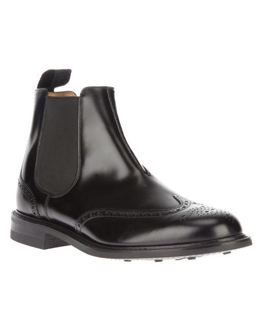 Church's   Black Mcentyre Boot for Men   Lyst