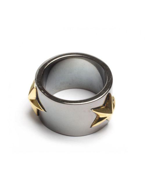 Tomasz Donocik   Tomaz Donocik Black Star Ring Black Rhodium   Lyst