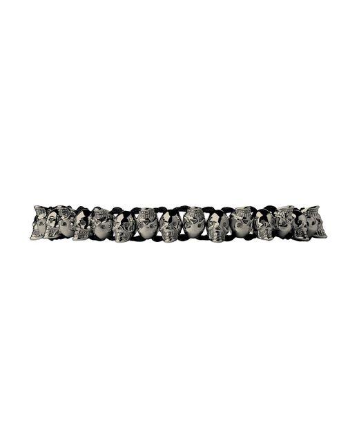 Links of London | Black Skull Friendship Bracelet | Lyst
