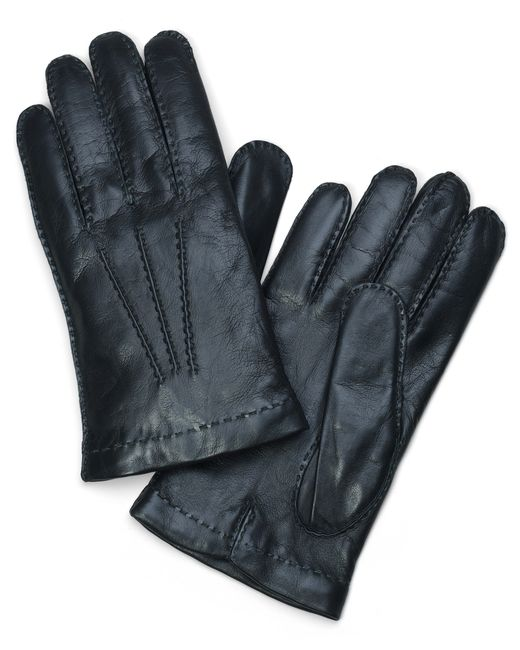 Brooks Brothers | Green Lambskin Cashmere Lined Gloves | Lyst