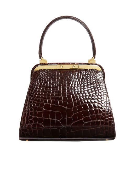 Brooks Brothers | Brown Alligator Handbag | Lyst