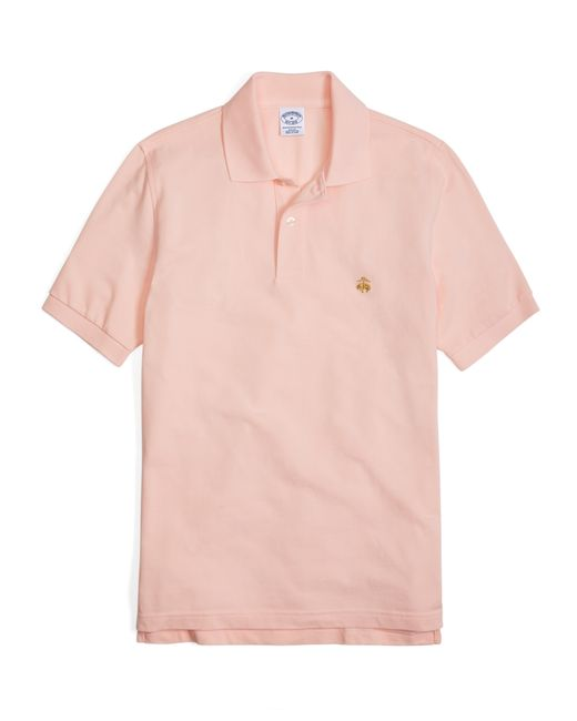 Brooks Brothers | Pink Golden Fleece® Slim Fit Performance Polo Shirt - Basic Colors for Men | Lyst