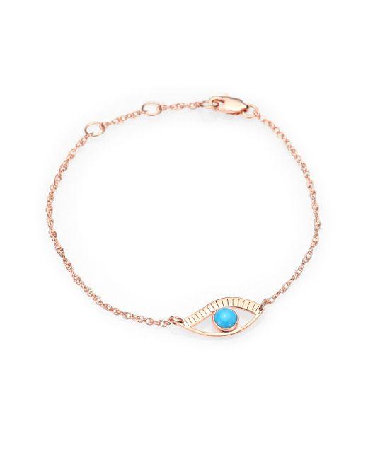 Jennifer Zeuner | Pink Eye Bracelet | Lyst