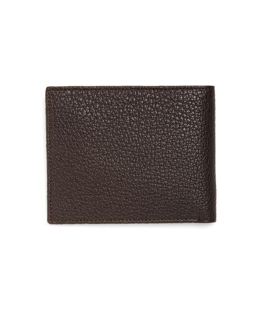 Brooks Brothers | Brown Buffalo Wallet for Men | Lyst