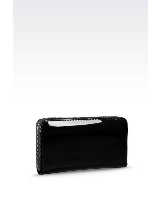 Armani Jeans | Black Wallet | Lyst