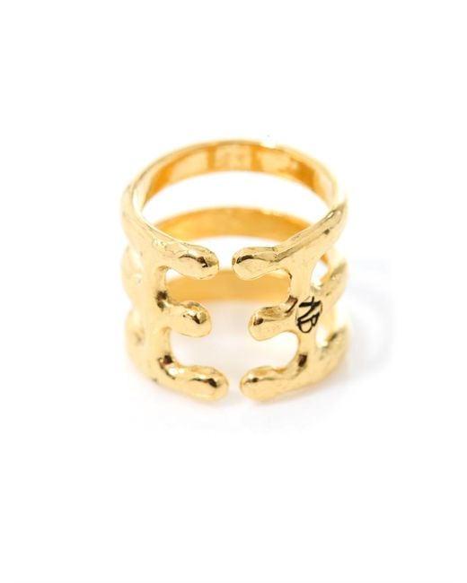 Aurelie Bidermann   Metallic Esteban Gold-Plated Ring   Lyst