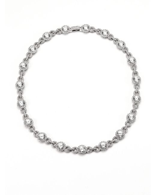 Adriana Orsini | Metallic Faceted Collar Necklace | Lyst