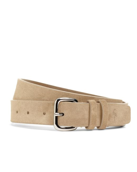 Brooks Brothers | Brown Harrys Of London® Suede Belt for Men | Lyst