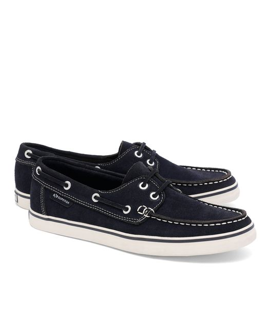 Brooks Brothers | Blue Superga® Suede Boat Shoes for Men | Lyst