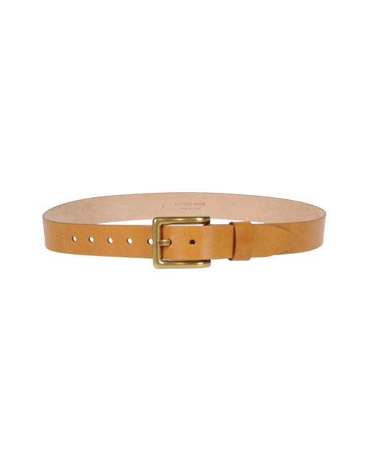 michael kors belt in brown save 63 lyst