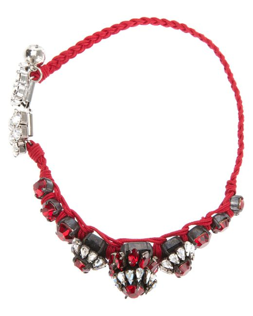 Shourouk | Red Bora Amerindien Bracelet | Lyst