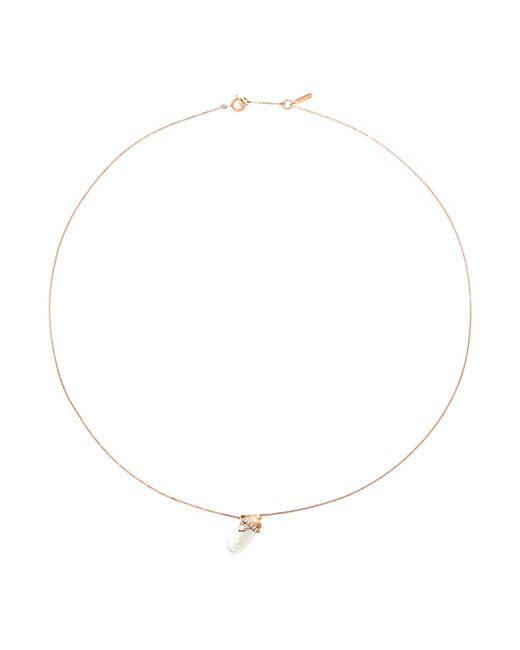 Bao Bao Wan | Metallic 'little Baby Bottle' 18k Gold Diamond Pearl Necklace | Lyst