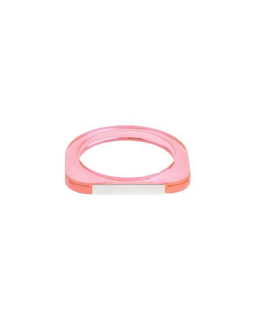 MM6 by Maison Martin Margiela | Pink Bracelet | Lyst