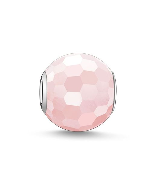 Thomas Sabo | Pink Karma Beads Bead Rose Quartz | Lyst