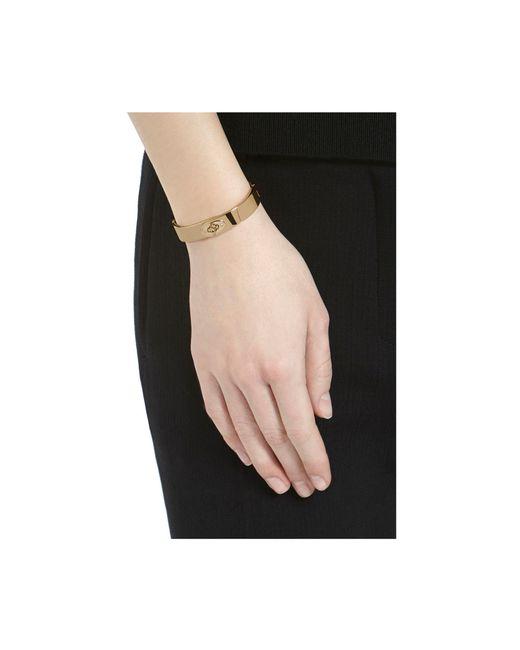 Mulberry | Metallic Slim Bayswater Bracelet | Lyst