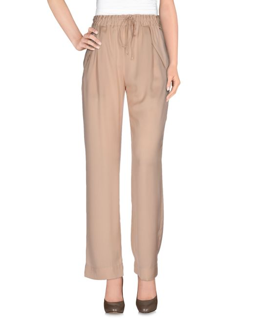 Patrizia Pepe | Pink Casual Pants | Lyst