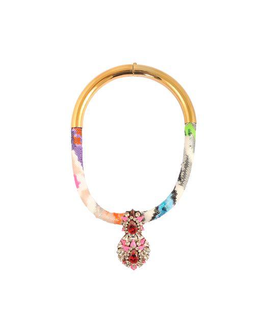 Shourouk | Multicolor Zulu Multi Necklace | Lyst