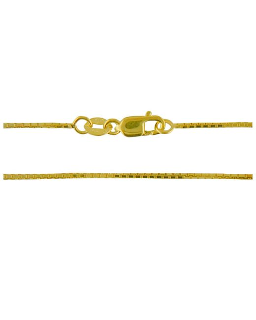 Lord & Taylor | Metallic 14k Yellow Gold Box Chain 18 In. | Lyst
