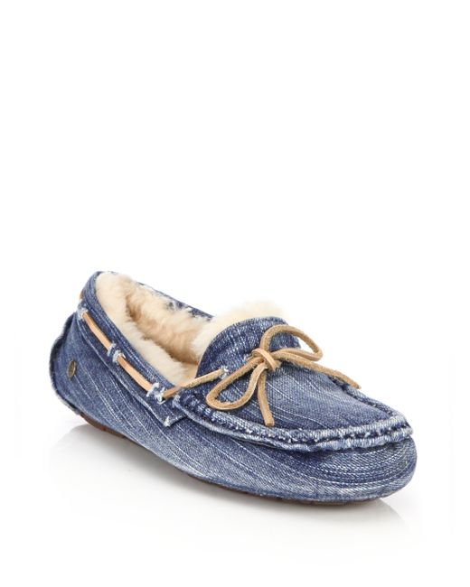 ugg slippers blue