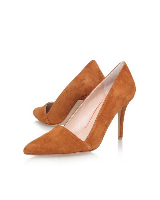 Carvela Kurt Geiger | Brown Able High Heel Court Shoes | Lyst