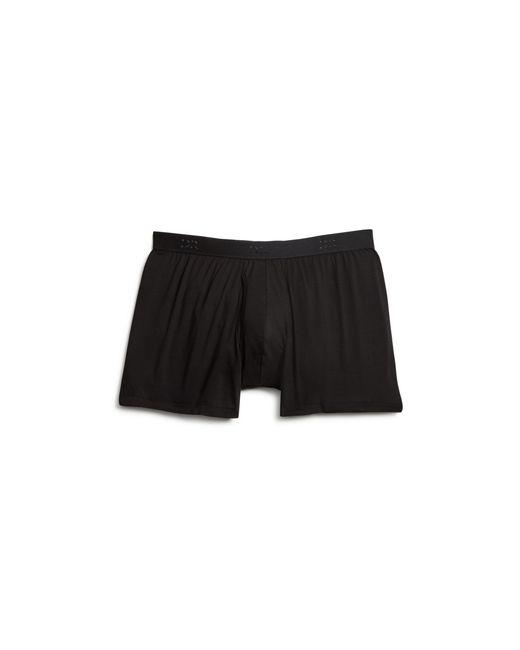 Derek Rose | Black Pima Cotton Stretch Boxer Briefs for Men | Lyst