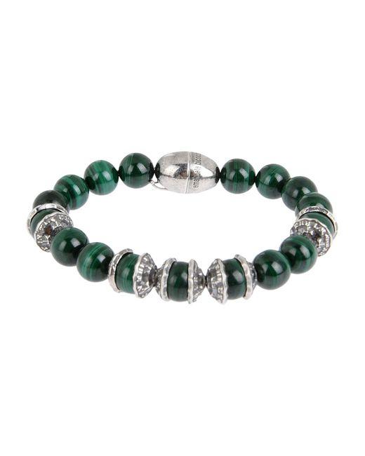 Emanuele Bicocchi | Green Bracelet | Lyst