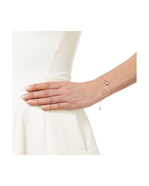 Monica Vinader | Pink Siren Fine Chain Bracelet | Lyst