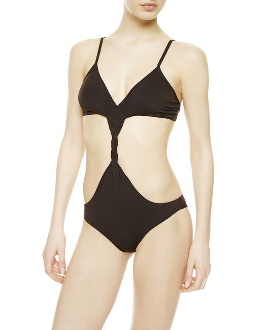 La Perla   Black Non-wired Swimsuit   Lyst
