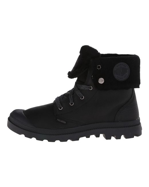 Palladium | Black Baggy Leather Gusset S for Men | Lyst